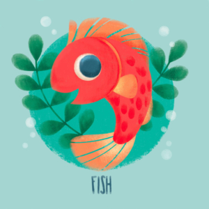 sweet red fish